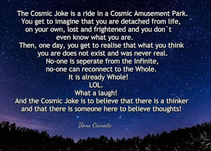 Cosmic Joke meme