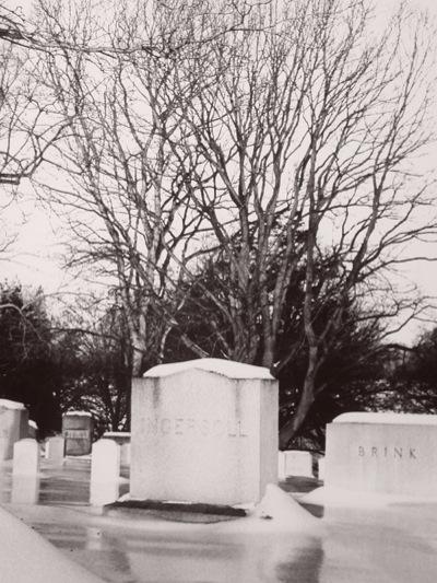 Arlington-gravestone