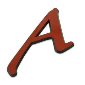 Scarlet A Car Emblem
