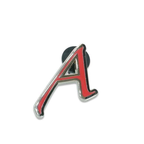 Scarlet Letter A Lapel Pin