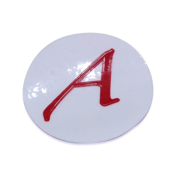 Scarlet Letter 'A' Stickers