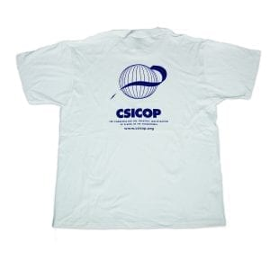 White csicop Shirt