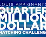 Louis Appignani quarter million dollars donation pledge