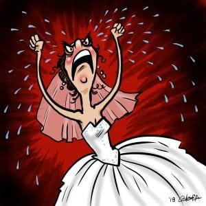 Canadian Susan the Bridezilla