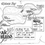 Secrets of Oak Island Map