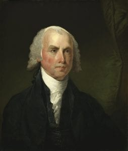 James Madison [Gilbert Stuart Public domain]