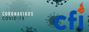 Coronavirus banner illustration