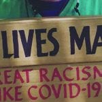 featured on racism and covid