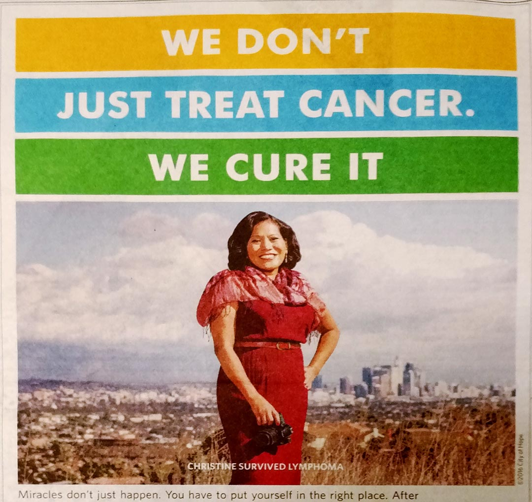 Cancer Miracle Mongering by City of Hope | Skeptical Inquirer