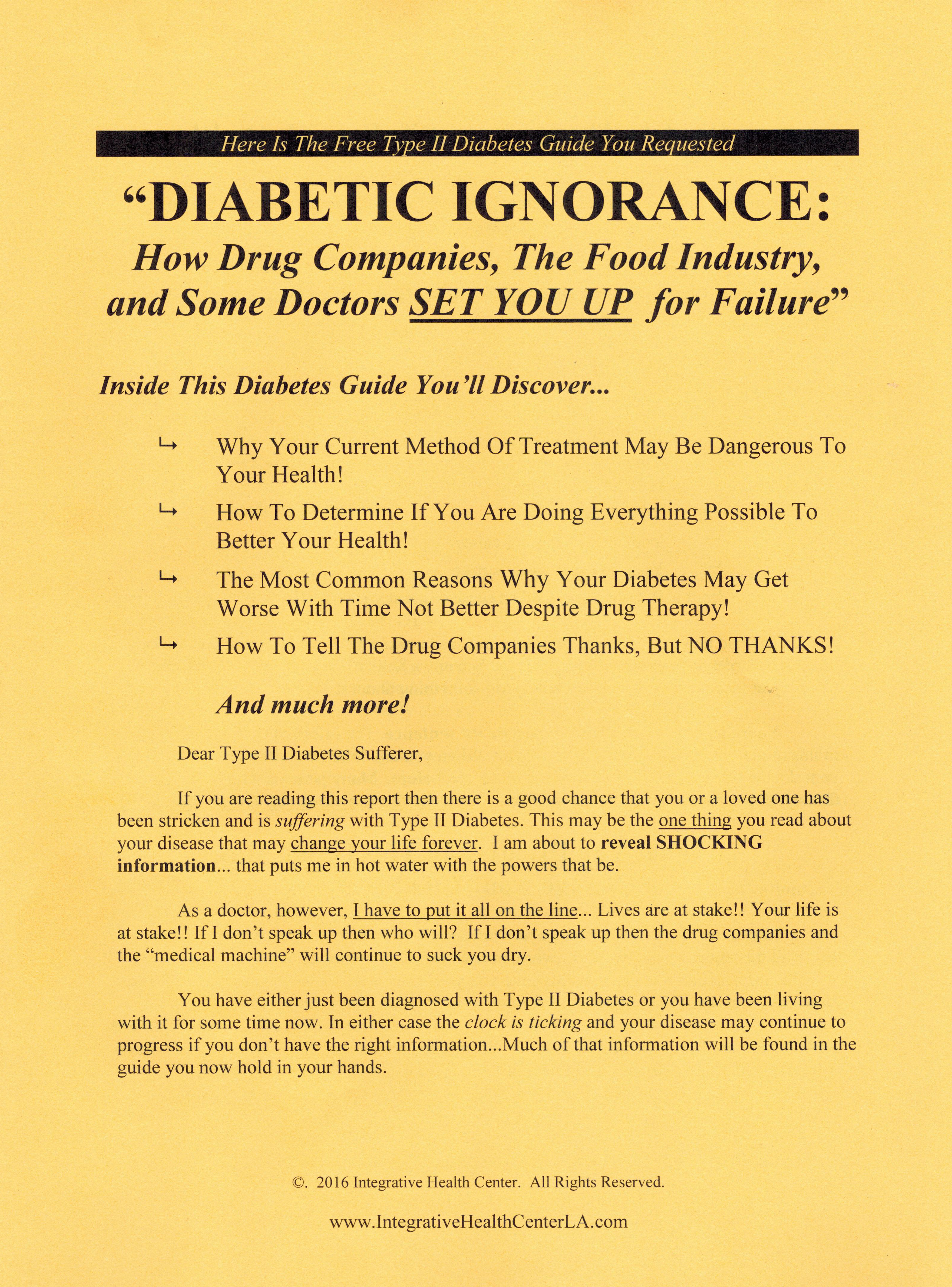 Chiropractors and Diabetes Gimmickry | Skeptical Inquirer