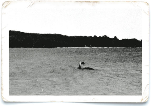 Lake monster photo