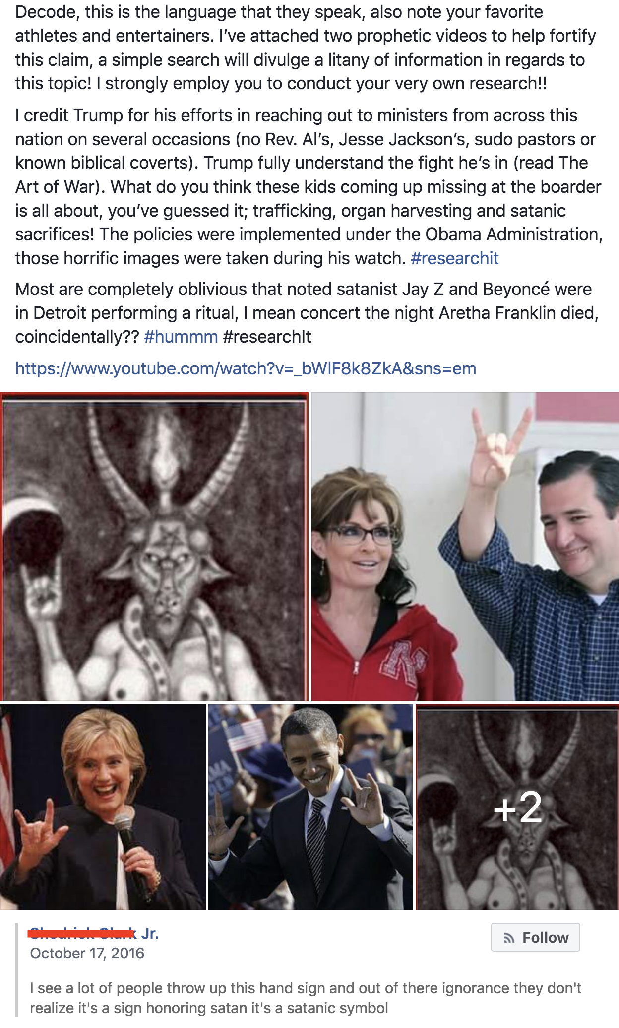 The 'Secret Hand Signs' Conspiracy   Skeptical Inquirer