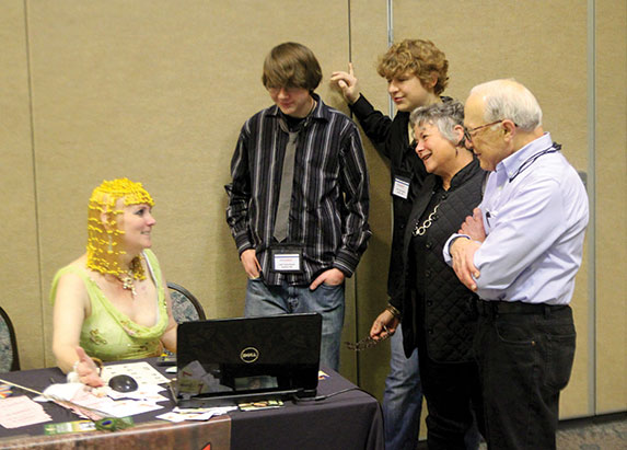 Susan Gerbic gives activism instruction