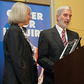 Ron Lindsay and Eugenie C. Scott