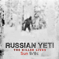 Russian Yeti: The Killer Lives show title