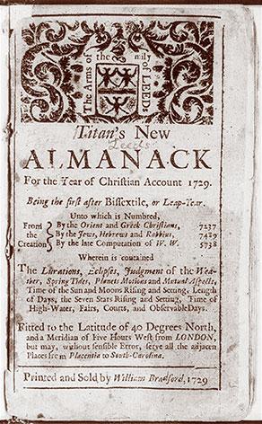 Titan's New Almanack