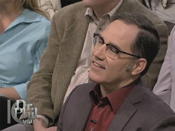 James Underdown shown on the Dr. Phil show