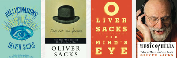 Oliver Sacks book covers
